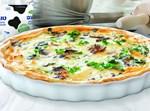 פשטידת גבינה ופטריות