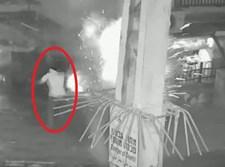 רגע פיצוץ מטען החבלה בבני ברק