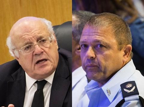 """מ""""מ המפכ""""ל מוטי כהן/השופט חנן מלצר"""
