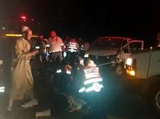 תאונה דרכים בדרך למירון בה נפצע קשה חתן
