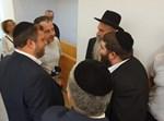 """מרדכי בן דוד ומיכי אלפר באולם ביהמ""""ש"""