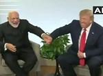 טראמפ ומודי בפגישה