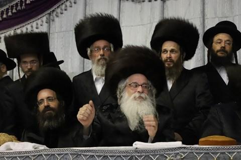 שמחת החתונה לבן הרבי מנדבורנה ירושלים