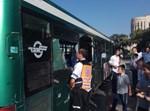 תאונה בין אוטובוס למשאית ברחוב סורוצקין