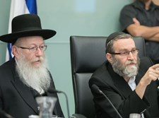 משה גפני ויעקב ליצמן בכנסת