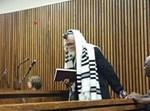 הרב ברלנד בבית המשפט. צילום: acarandafm