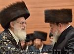 """רבי יחיאל מיכל הלוי מכלוביץ ז""""ל עם הרבי מויז'ניץ"""