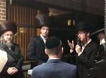 אברום מרדכי שוורץ בחופה