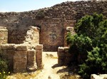 המצודה שהושחתה, צילום: רשות העתיקות