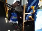 עגלת התינוק באוטובוס