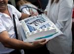 עוגה שהכינו תומכי 'הליכוד'