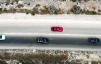 עקיפה מסוכנת בכביש 505
