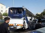 תאונת דרכים בין אוטובוסים בביתר