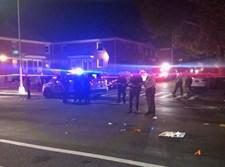 זירת התאונה בקווינס