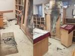 אחד מבתי הכנסת ששרף החשוד
