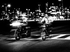 רוכב אופניים. אילוסטרציה