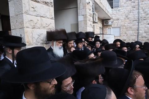 """הלווית הרב שלמה זלמן ברנד זצ""""ל"""