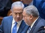 נתניהו וליברמן במליאת הכנסת