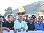 ההפגנה במג'דל - אכרום