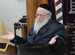 הגאון רבי שמואל אליעזר שטרן. צילום: שוקי לרר