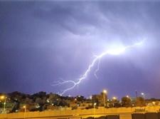 ברקים בשכונת בית צפפא בירושלים