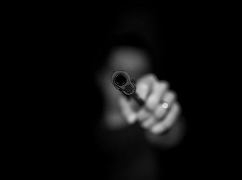 ירי באקדח. אילוסטרציה