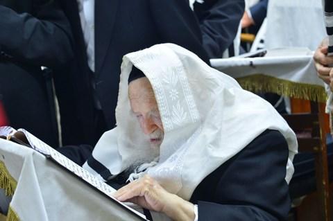 גדולי ישראל בבני ברק בנענועים