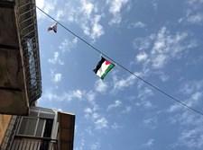 דגל פלסטין שנתלה במאה שערים