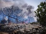 השריפה בצפון ירושלים. צילום: גרשון אלינסון, פלאש90