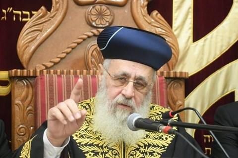 """עצרת זיכרון ביזדים לזכרו של מרן הגר""""ע יוסף זצ""""ל"""
