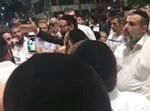 ההפגנה נגד רון קובי
