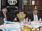 """ישיבת מועצת הרבנות בבית מרן הרב עובדיה זצ""""ל"""