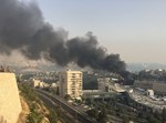 השריפה. צילום: נייעסטאר