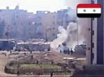 ההתקפה בחאלב, צילום מתך חשבונות טוויטר המזוהים עם משטר אסד