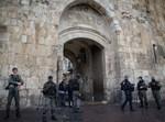 שער האריות בעיר העתיקה בירושלים
