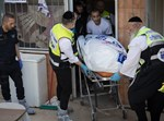 זירת רצח בירושלים