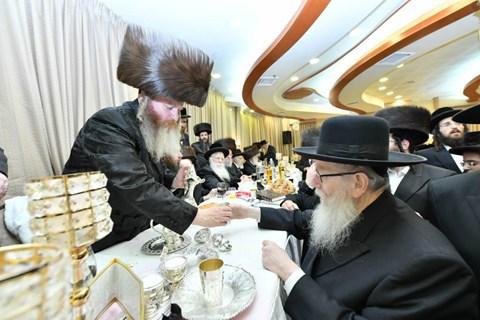 חתונת בן הרב דוד רובינשטיין
