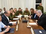 התייעצות ביטחונית בקריה בתל אביב
