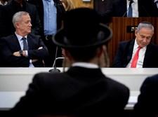 """נתניהו וגנץ באזכרה בכנסת לזכר הגר""""ע יוסף זצ""""ל"""