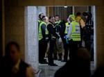 זירת האסון בירושלים, אמש (יונתן זינדל, פלאש 90)