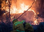 שריפת ענק בקיבוץ הראל, מאי 2019