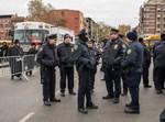 שוטרים בריכוז חסידי סאטמר בויליאמסבורג