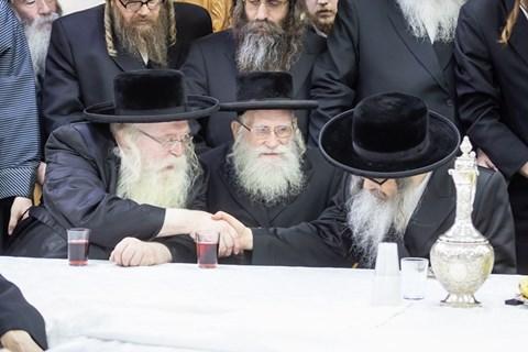 """קבלת פנים לאדמו""""ר מסאטמר בירושלים"""