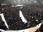 הרבי מסאטמר במוצאי שבת בירושלים