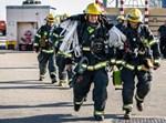 תרגיל כיבוי וחילוץ משריפה באוניה