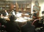 """פגישת הגר""""ד יוסף עם ראשי הישיבה ואנשי הפלג הירושלמי, אמש"""
