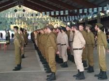 120 חיילים חרדים סיימו טירונות