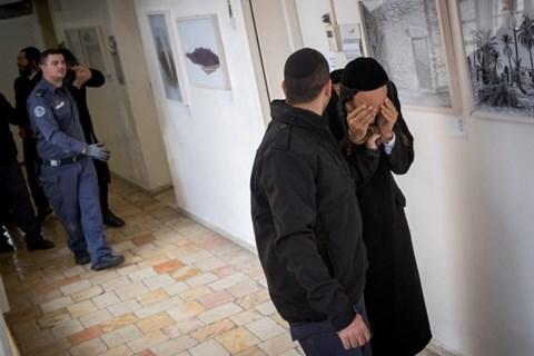 תלמידי הרב ברלנד בבית משפט השלום בירושלים
