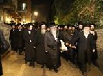 """הלווית הרבנית מספינקא ב""""ב, בירושלים"""