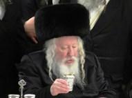 הרבי מגור השבוע בחתונה בירושלים